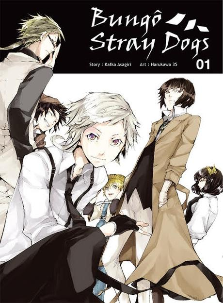Couverture Bungô stray dogs, tome 1