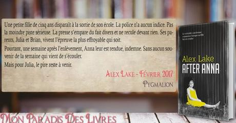 After Anna – Alex Lake