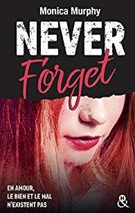 Never Forget de Monica Murphy - Editions