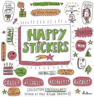 Happy stickers! Funny stickers! - Editions NATHAN