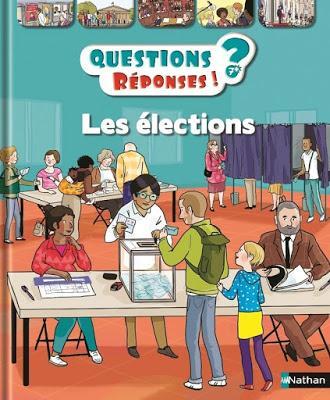 Les enfants et les élections avec les éditions Nathan
