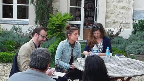 Jesse Burton - Gallimard - Paris - Rencontre du 29 Mars 2017