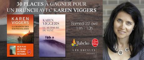 Karen Viggers - Les Escales - Paris - Rencontre du 22 Avril 2017