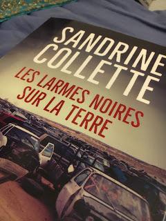 Les larmes noires sur la terre, Sandrine Collette