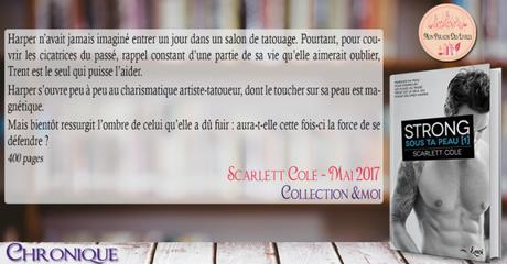Sous ta peau #1 – Strong – Scarlette Cole