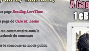 CONCOURS partenariat avec Caro LEENE