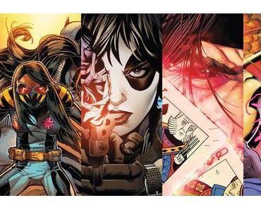 All-New Wolverine #20, Weapon X #3, X-Men Blue #3, X-Men Gold #4