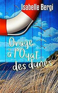 Orage à l'Oyat des Dunes - Isabelle Bergi