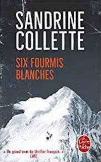 Six fourmis blanches, Sandrine Collette - Gravity, façon montagne