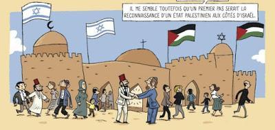 Le conflit israélo-palestinien en 86 planches