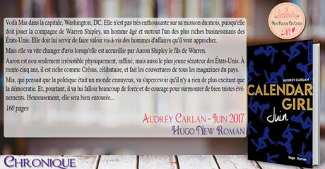 Calendar Girl #6 – Juin – Audrey Carlan