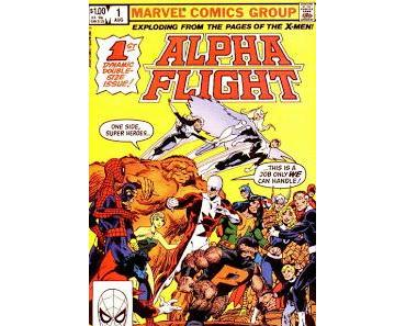 ALPHA FLIGHT #1 (LA DIVISION ALPHA) EN 1983 - COVER STORY RELOADED