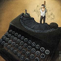 La solitude de l'auteur Indé