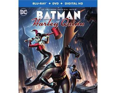 "BATMAN ET HARLEY QUINN : OPERATION NOSTALGIE ""BRUCE TIMM"" EN DVD"
