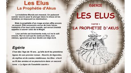 Les élus : La prophétie d'Akus de Egérie