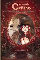 'Les Carnets de Cerise, tome 1 : Le zoo pétrifié'de Joris Chamblain et Aurélie Neyret