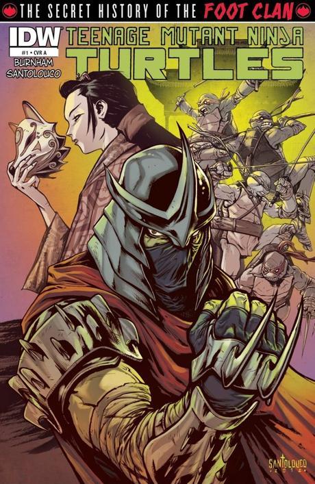 Teenage Mutant Ninja Turtles #1-73 et ses mini-séries