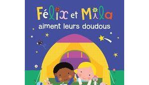 Félix Mila aiment leurs doudous Laurence Gillot Tourne devine émotions Marjorie Beal