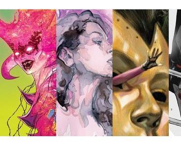 Mighty Thor #22, Hawkeye #10, Jessica Jones #12, All-New Wolverine #24