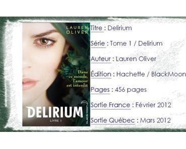 Delirium #1 de Lauren Oliver