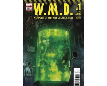 WEAPONS OF MUTANT DESTRUCTION #1 (ALPHA) : LE CROSSOVER TOTALLY AWESOME HULK + WEAPON X