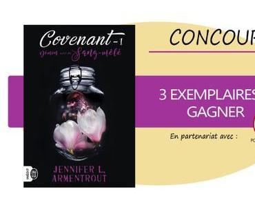 #CONCOURS – The Covenant de Jennifer L. Armentrout à Gagner sur Songe !