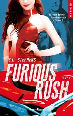 Furious Rush, Tome 1 de S.C.Stephens - Editions HUGO ROMAN