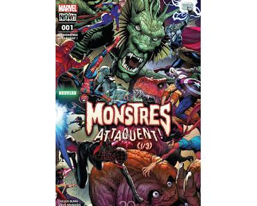 LES MONSTRES ATTAQUENT ! (1/3) CHEZ PANINI : MONSTERS UNLEASHED