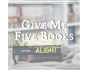 [rendez-vous] Give Me Five Books #1