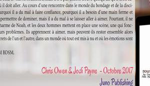 Déviances Soumission Chris Owen Jodi Payne