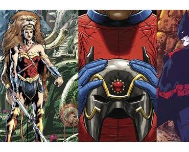 Wonder Woman #32, Mister Miracle #3, Batwoman #8