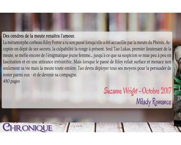La Meute du Phénix #6 – Tao Lukas – Suzanne Wright