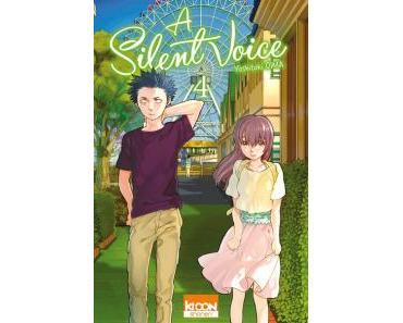 A Silent Voice, Tome 4 et 5 de Yoshitoki Oima – Le calme avant la tempête !