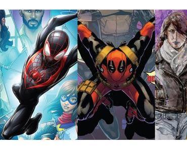 Spider-Man #21, Defenders #6, Jessica Jones #13