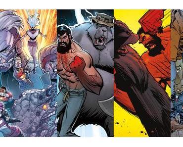 Youngblood #6, Shirtless Bear-Fighter #4, Shirtless Bear-Fighter #5, Savage Dragon #227