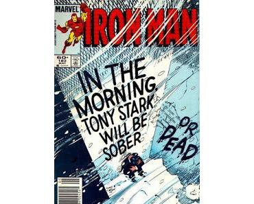 OLDIES : IRON MAN #182 TONY STARK AU FOND DU GOUFFRE
