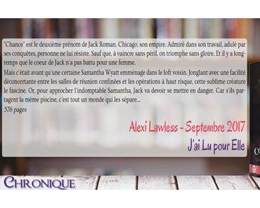 Classé confidentiel #1 – Une si sublime créature – Alexi Lawless