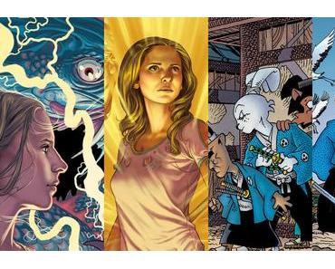 Buffy The Vampire Slayer Season 11 #11, Buffy The Vampire Slayer Season 11 #12, Usagi Yojimbo #162, Usagi Yojimbo #163