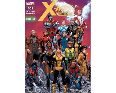 NOUVEAU MENSUEL POUR LES MUTANTS : X-MEN RESURRXION CHEZ PANINI