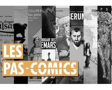 Les Pas-Comics d'octobre 2017