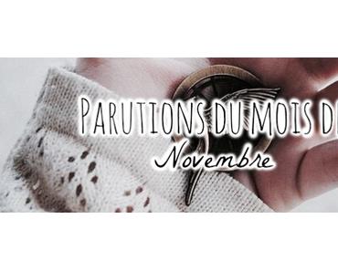 Sorties livresques du mois ♡ Novembre