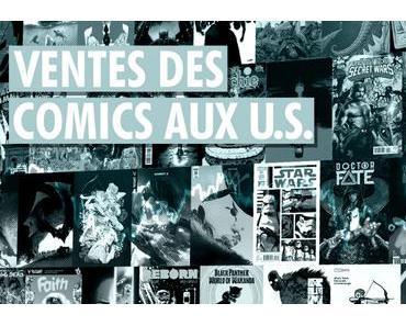 Ventes Comics U.S. : Octobre 2017