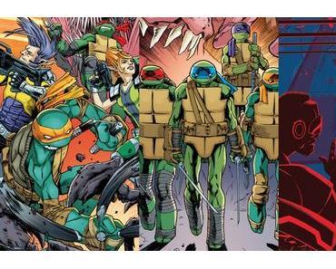 Teenage Mutant Ninja Turtles #74, Teenage Mutant Ninja Turtles #75, Infinite Loop: Nothing But the Truth #2