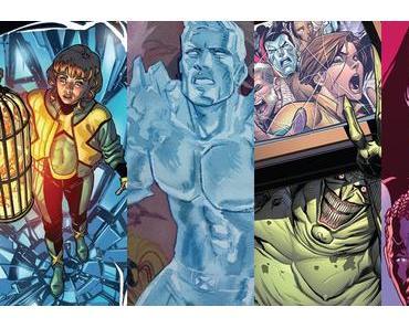 Jean Grey #8, Iceman #7, X-Men Gold #15, Astonishing X-Men #5