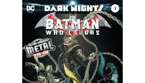 Dark nights metal batman laughs