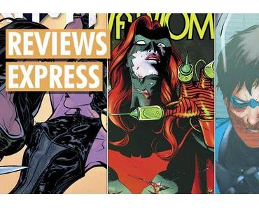 Titres DC Comics sortis le 15 novembre 2017