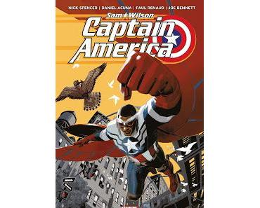 CAPTAIN AMERICA SAM WILSON TOME 1 : LE NOUVEAU CAPTAIN DE NICK SPENCER