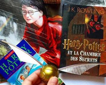Harry Potter, Tome 2 : Harry Potter et la chambre des secrets – J.K. Rowling