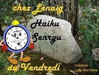 Haïkus 71 : je suis encore une fois en retard.