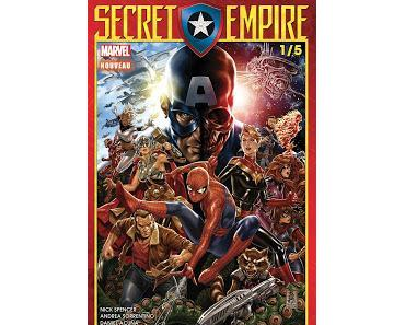 SECRET EMPIRE (1/5) C'EST PARTI CHEZ PANINI COMICS